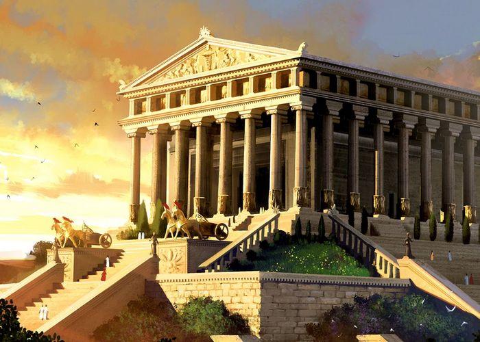 В Святой Софии использованы колонны Храма Артемиды в Эфесе./ Фото: amazing-travels.ru