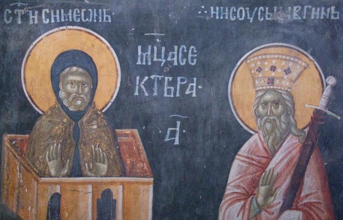 Святой Лука Столпник Халкидонский.