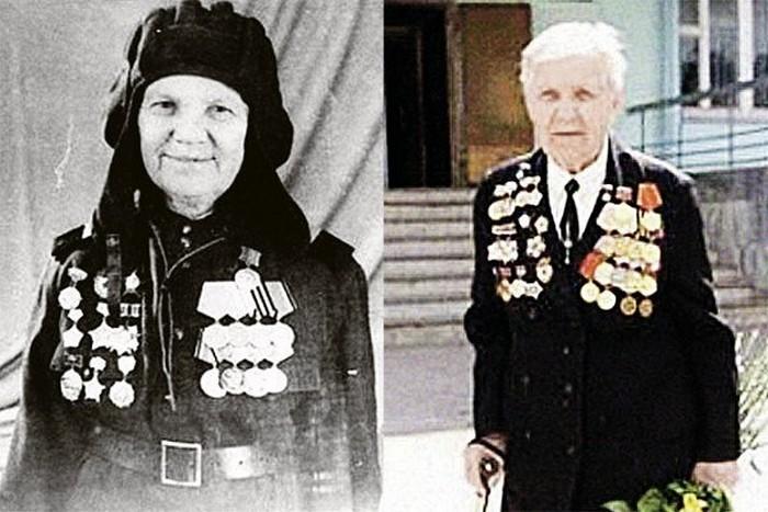 Александра Ращупкина - женщина-танкист