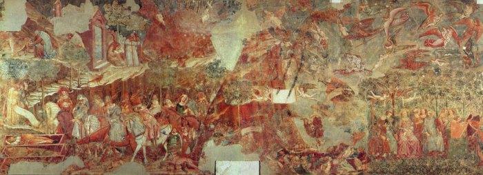 Фрески пизанского кладбища Кампосанто.