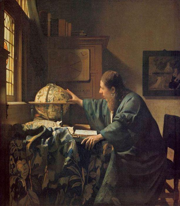 Астроном. Ян Вермеер.