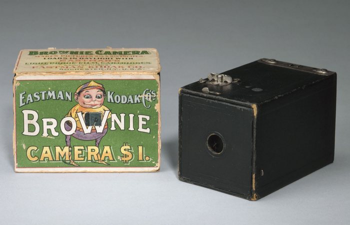 Kodak Brownie./ Фото: ascmag.com