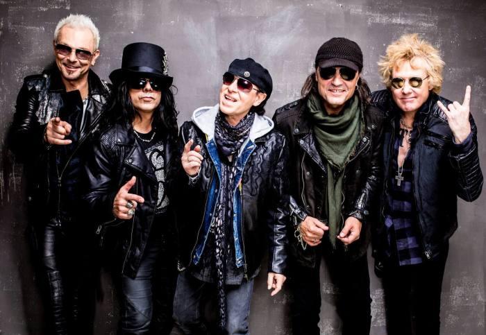 Scorpions - величайшие музыканты хард-рока.