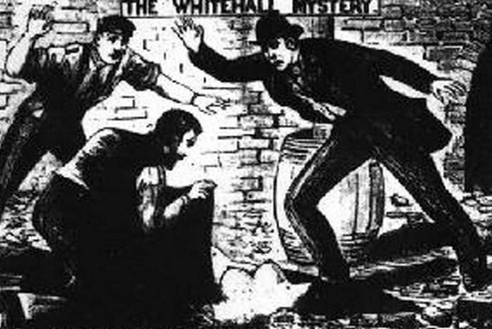 Нераскрытое убийство, произошедшее на территории Скотланд-Ярда.