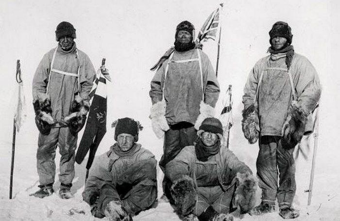 Экспедиция Роберта Скотта.