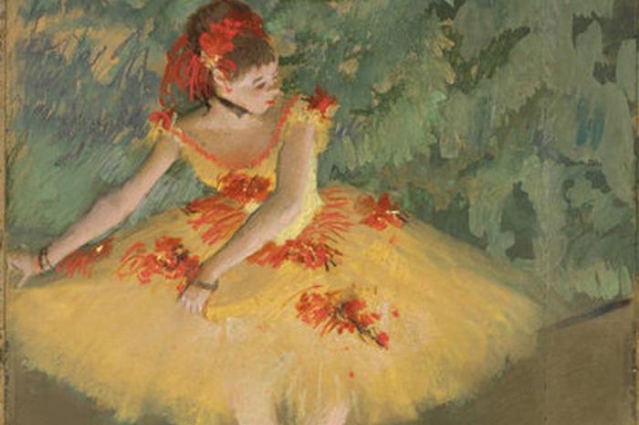 Пропавшая балерина.