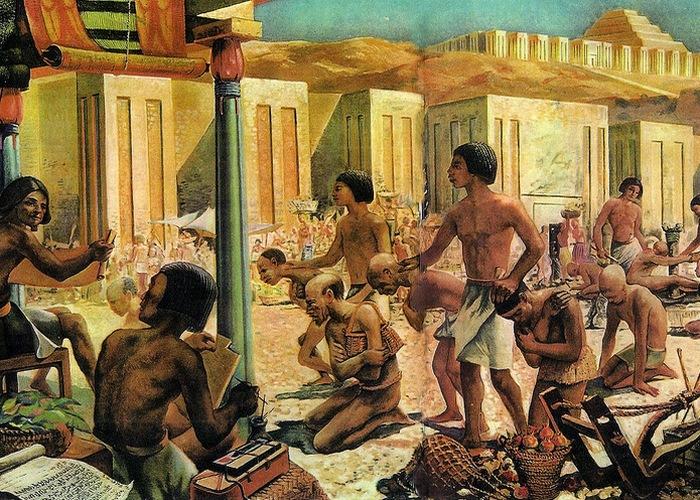 Гомосексуализм древнего мира в изображениях