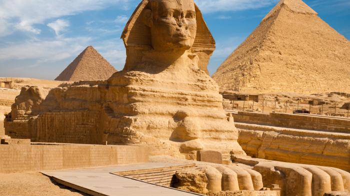 Египетский Сфинкс.
