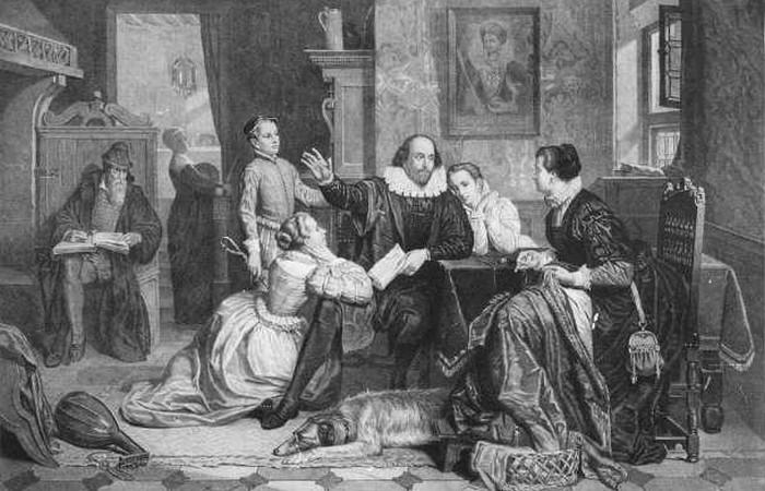 Шекспир был далек от благотворительности. / Фото: list25.com