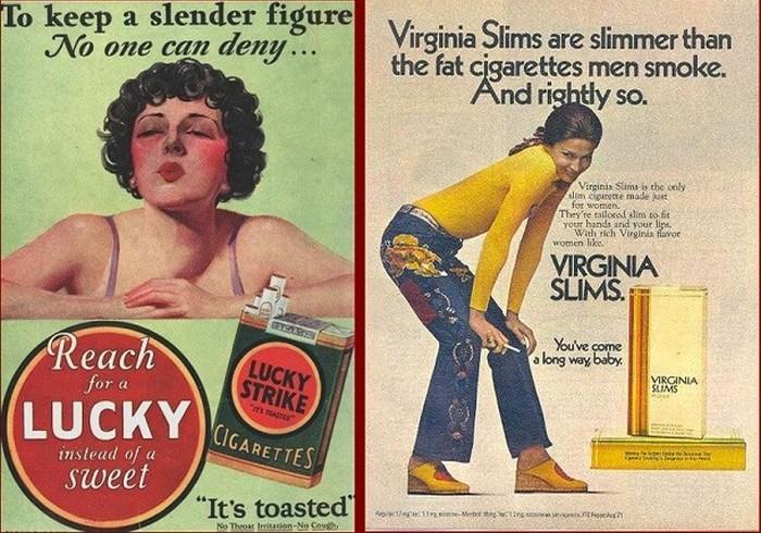 Virginia Slims.