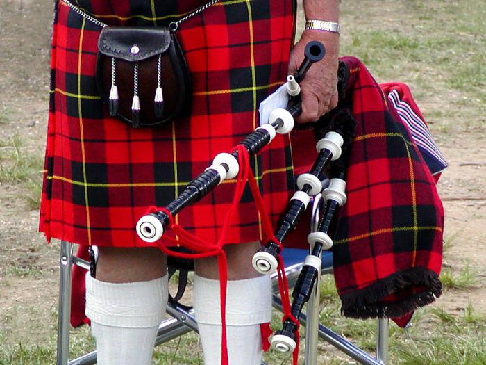 Килт и волынка. / Фото: scienceukraine.com