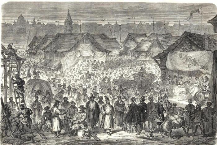 Нижегородский рынок.