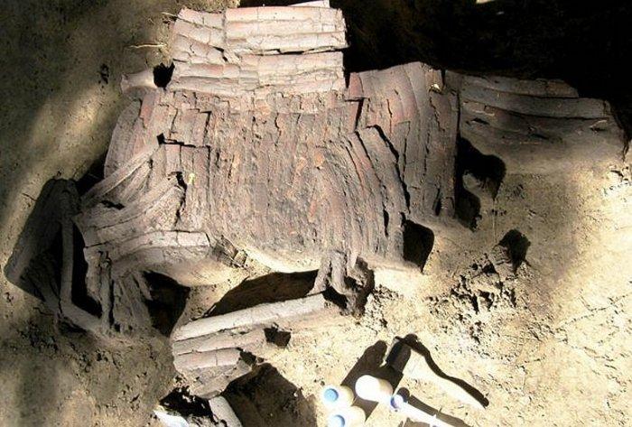 Полный комплект брони из кости.