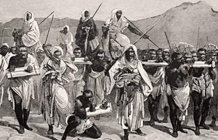 Работорговля на Аравийском полуострове.
