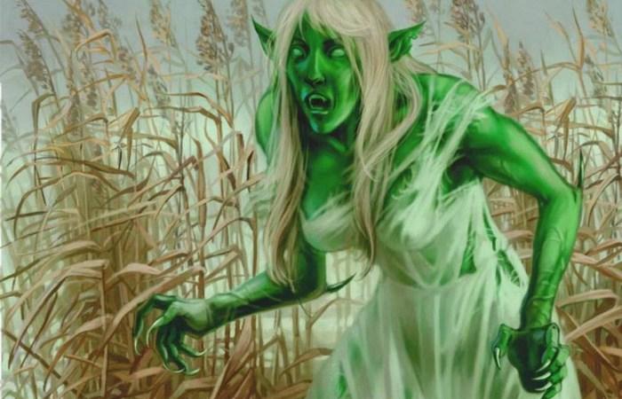 Ведьма или дух умершего | Фото: etsphoto.ru