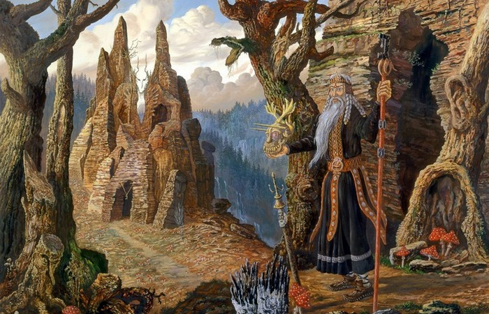 Один из наиболее таинственных богов | Фото: rusgallery.info