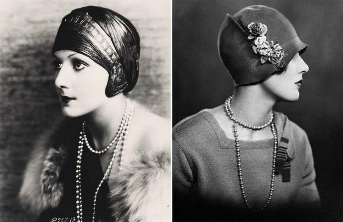 Шляпки-клош - творение модистки Каролины Ребу.