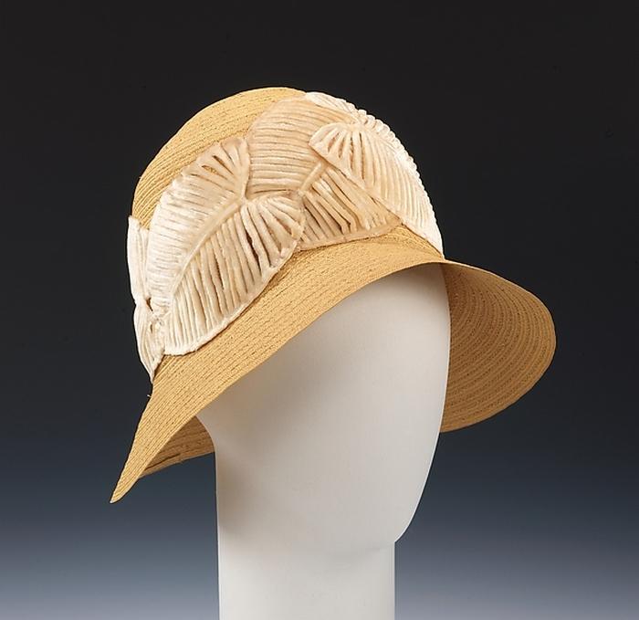 Почти соломенная шляпка. 1925 год.