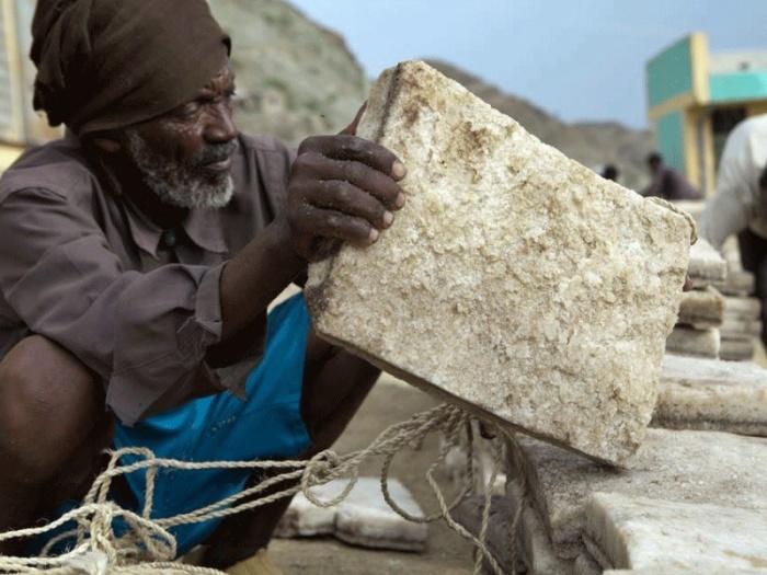 Соляные деньги в Эфиопии.