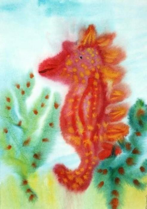 Морской конёк. Сонечка Шаталова.