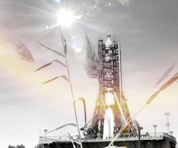Космический корабль Союз-11 на стартовой площадке. Фото © РИА Новости/Александр Моклецов