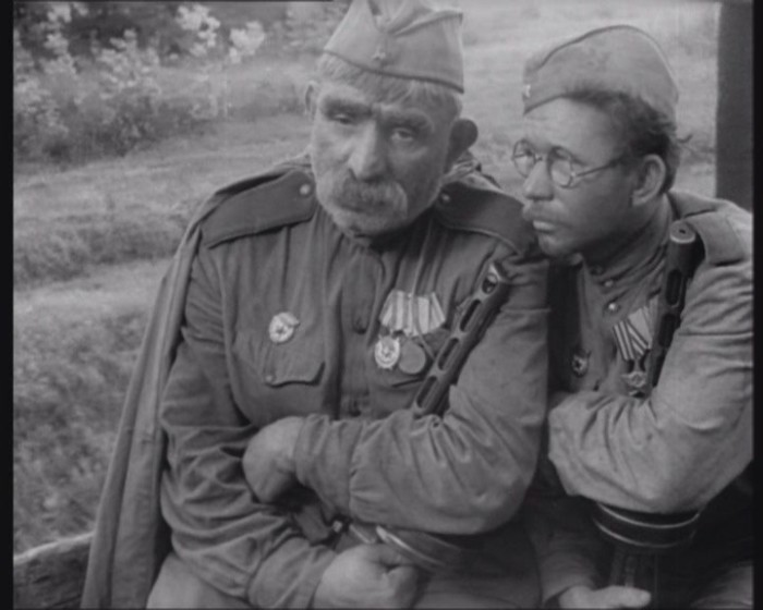 Отец солдата. Кадры из фильма.