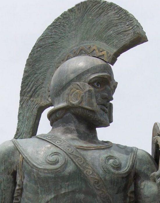 Спартанский царь Леонид I./фото: thevintagenews.com