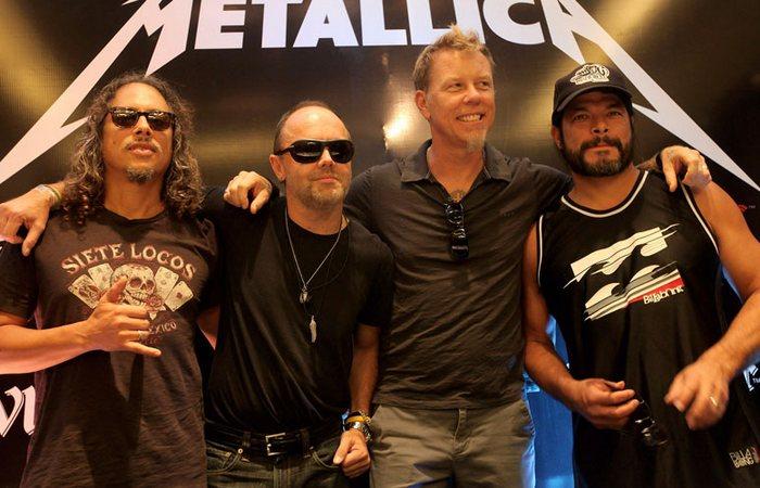 Благотворители из группы Metallica./ Фото: radioroks.ua