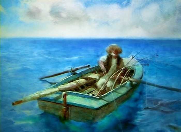 Эрнест Хемингуэй.  «Старик и море».