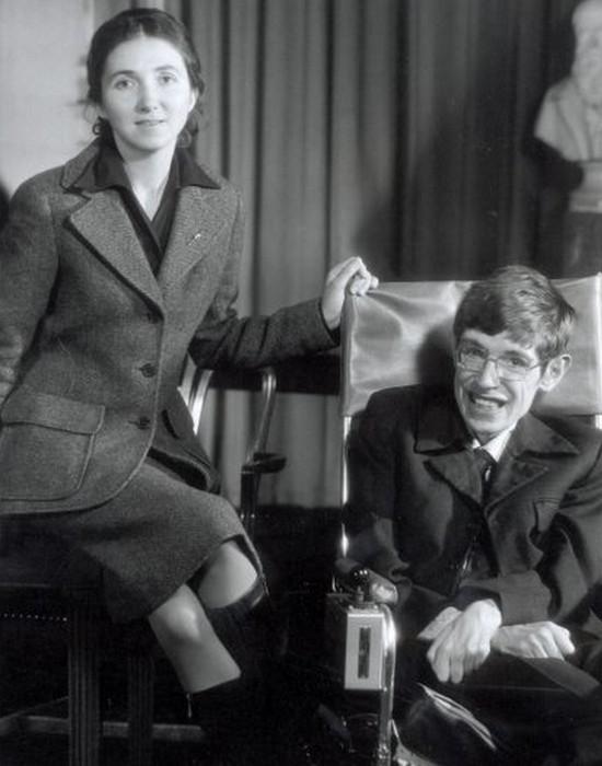 Стивен Хокинг и Джейн Уайлд./Фото: gazete8.com