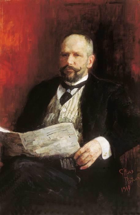 И.Е. Репин. «Портрет премьер-министра Столыпина»