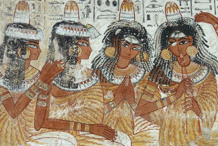 Ароматические конусы - древнеегипетский дезодорант.