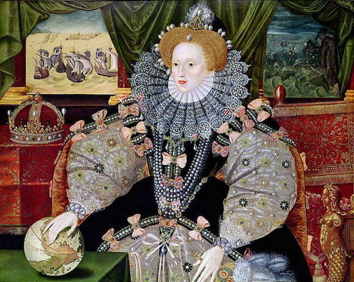 Грандиозные платья Елизаветы I.
