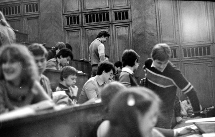 Советские студенты. Фото из 1980-х.