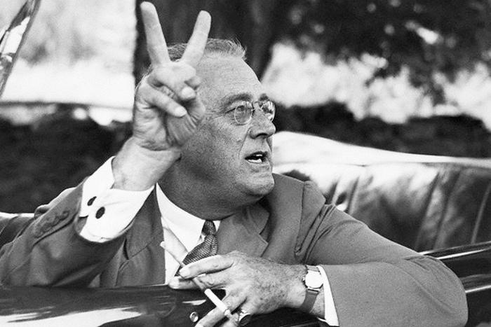 Франклин Д. Рузвельт - человек, который отменил сухой закон.