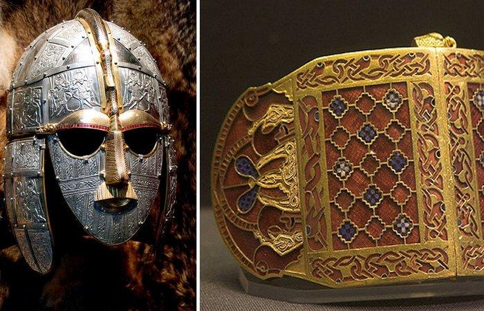 Археологические находки Саттон-Ху датируются VI - VII веком.