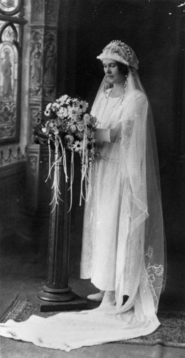 Мэй Доэрти в день ее свадьбы, 1924 год.