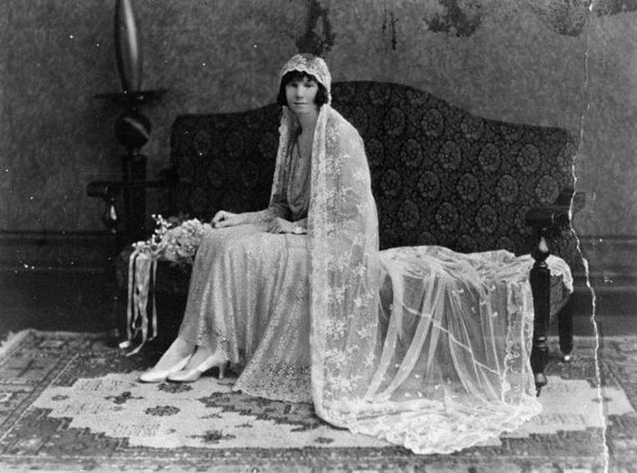 Портрет невесты Poulsen Studios, Брисбен, 1929 год