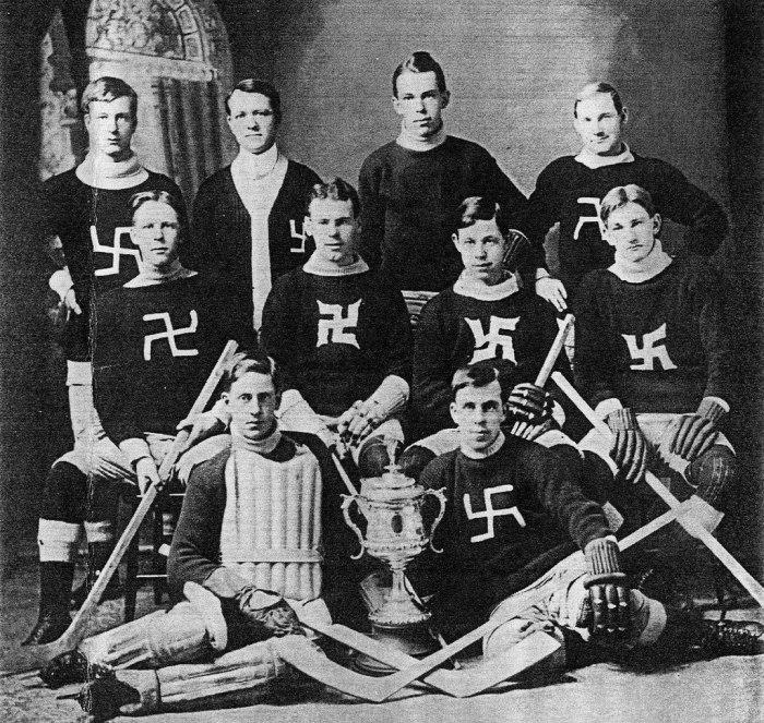 Мужская команда из г. Виндзор. 1910 год.