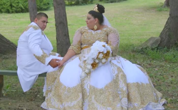 Свадьба 19-летней Евки и 20-летнего Лукаша.