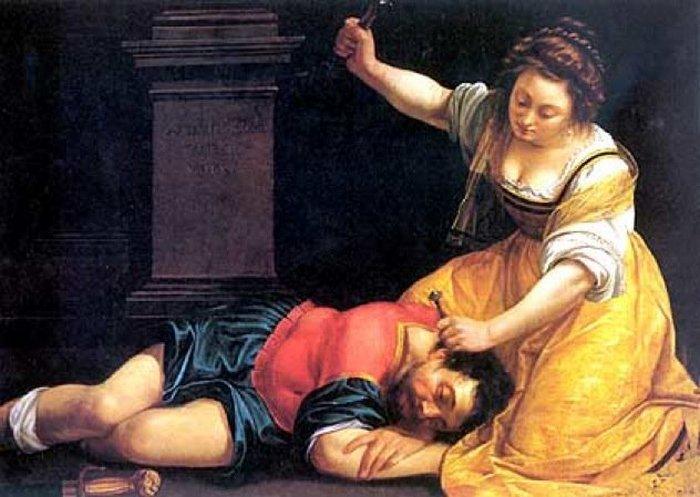 Иаиль, убивающая Сисару.