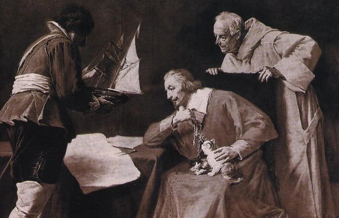 Кардинал де Ришелье превратил Бастилию в тюрьму.