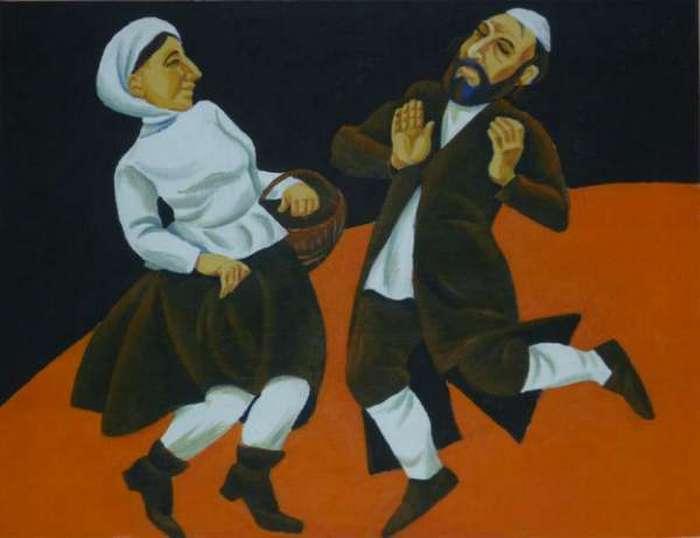 Семь-сорок — традиционная клезмерская танцевальная мелодия.