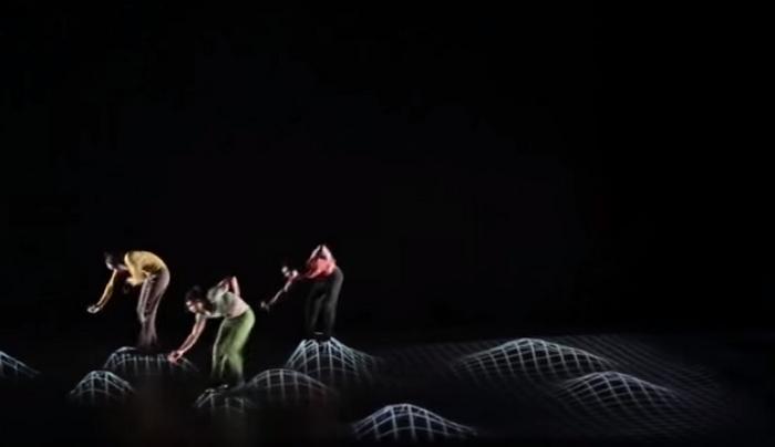 Танец «Pixel» в постановке Mourad Merzouki.
