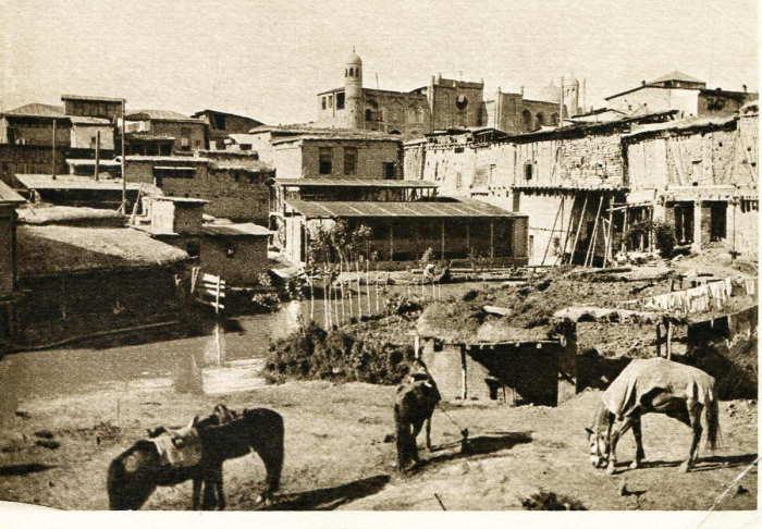 Ташкент. Вид Старого города. Махала-Масляк, близ Куколь-Таша.