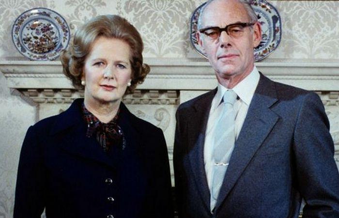 Маргарет и Дэнис Тэтчер./ Фото: symphonya.info