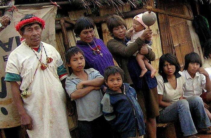 Многие из коренных племен.