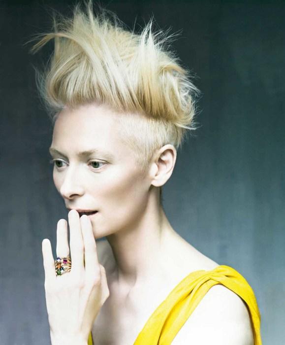 Тильда Суинтон - образец хорошего вкуса и свободомыслия. \ ThePlaCe.ru