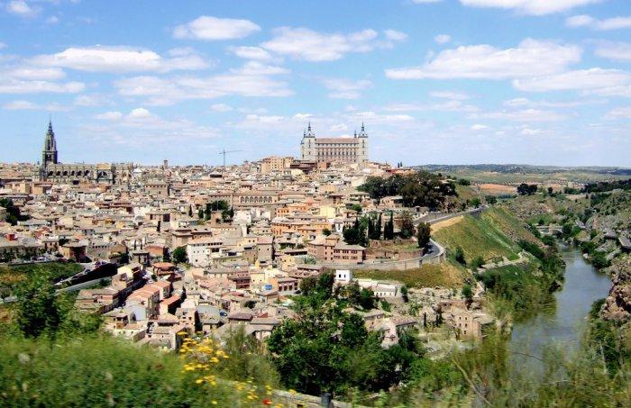 Город Толедо - одна из визитных карточек Испании.