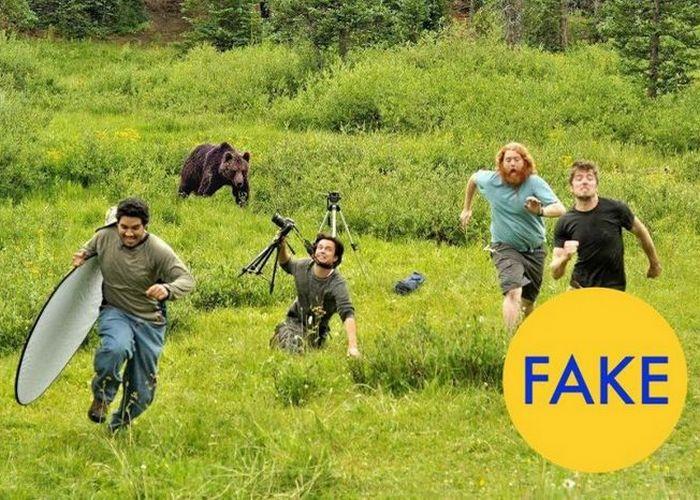 На съемках National Geographic.